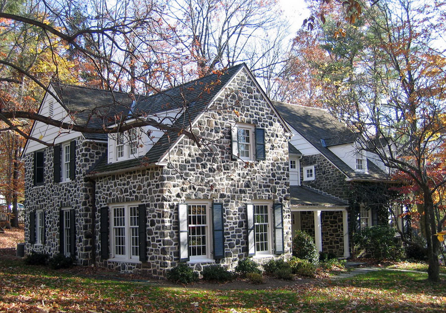 Stone cottage doubles in size