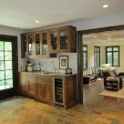 Wet Bar & Family Room Addition (with Master Suite above)