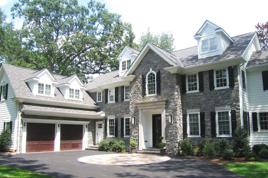 About us hoffman architects for Custom colonial homes